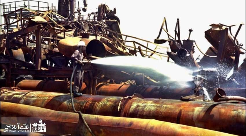 تصویری از حمله دشمن بعثی به گچساران | نفت آنلاین
