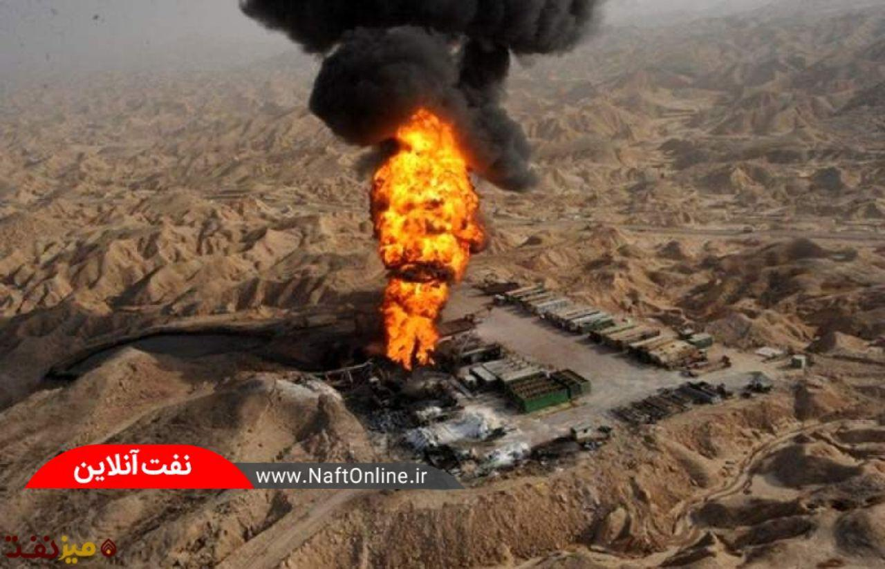 تصویری از حادثه تلخ چاه شماره 147 رگ سفید | نفت آنلاین