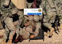 فیلمی از وحشت سربازان آمریکایی هنگام حمله موشکی ایران | نفت آنلاین