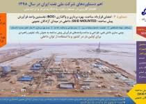 دستاوردهای شرکت ملی نفت ایران در سال ۹۸/ امضای قرارداد ساخت واحد فرآورش در میدان آزادگان جنوبی