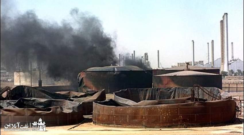 حمله هوایی به ترمینال نفتی جزیره خارک | نفت آنلاین