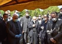 مراسم تشییع مرحوم حسین کاظمپور اردبیلی | نفت آنلاین