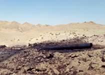 آتش سوزی خط لوله نفت در خوزستان | نفت آنلاین