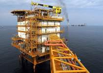 سکوی نفتی سلمان   خلیج فارس   نفت آنلاین