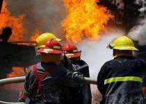 حادثه آتش سوزی اهواز   کارگاه شرکت نفت   نفت آنلاین