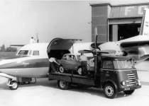 هواپیمای فوکر ۲۷ شرکت ملی نفت ایران در سال ۱۹۶۰