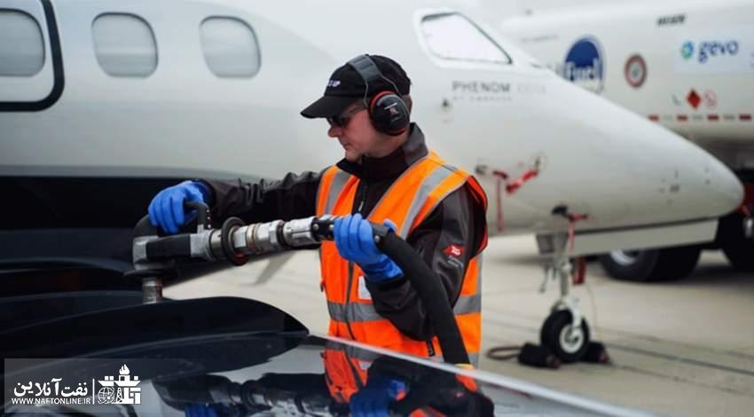 سوخت هواپیمای مسافربری   نفت آنلاین