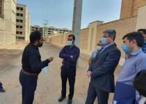 حضور مهندس یوسفی نماینده اهواز در محل پروژه 2000 واحدی مسکن مهر نفت اهواز | نفت آنلاین