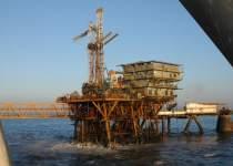 سکوی حفاری مورب در خلیج فارس | نفت آنلاین