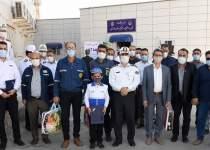 تجلیل پلیس راهنمایی خوزستان از کارکنان ترابری مناطق نفتخیز | نفت آنلاین