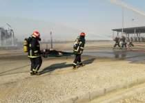 رزمایش در شرکت نفت و گاز اروندان   نفت آنلاین