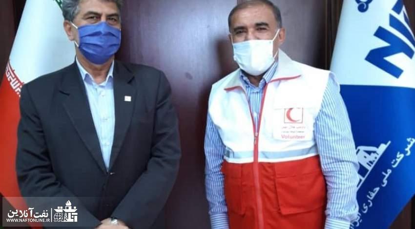 عضویت سید عبدالله موسوی مدیرعامل شرکت ملی حفاری در جمعیت هلال احمر