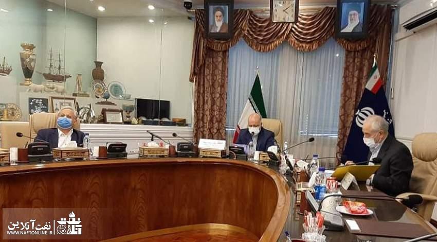 زنگنه وزیر نفت
