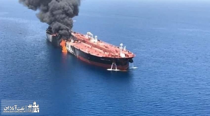 عکس آرشیوی است | انفجار نفتکش