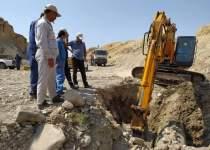 تخلیه خط لوله قدیم انتقال نفت خام مارون به اصفهان