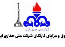 شرکت ملی حفاری ایران | حقوق و مزایا