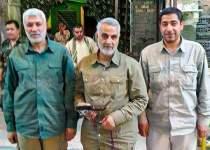 شهید حاج قاسم سلیمانی و شهید ابوالمهدی المهندس