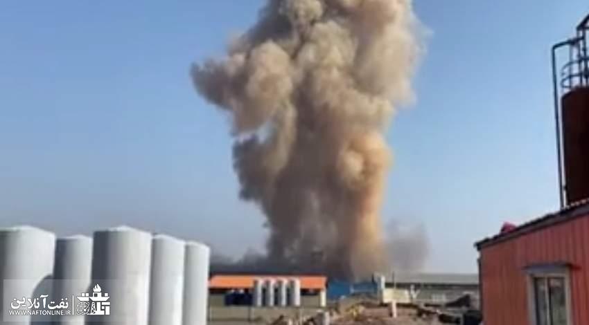 انفجار در سلفچگان