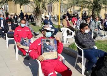 مراسم باشکوه شهادت سردار دلها در اهواز | نفت آنلاین