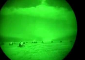 حمله موشکی ایران به پایگاه نظامی آمریکا