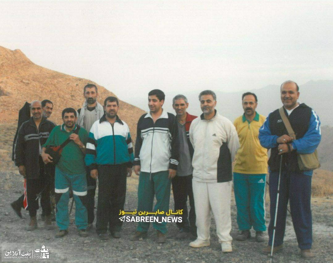 شهید قاسم سلیمانی و ورزش کوهنوردی