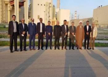 اعضای کمیسیون انرژی مجلس در نیروگاه اتمی بوشهر | نفت آنلاین