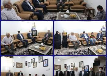 دیدار مدیران نفتی با خانواده شهید داوود نریمیسا   نفت آنلاین