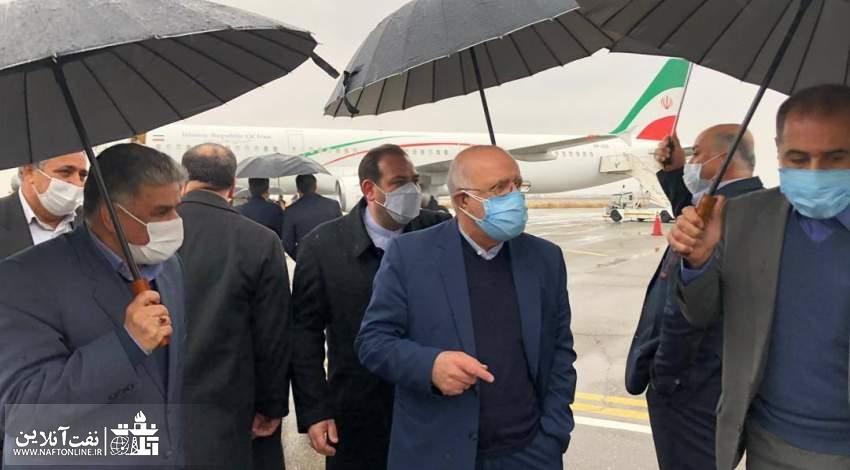 وزیر نفت در کرمانشاه | نفت آنلاین
