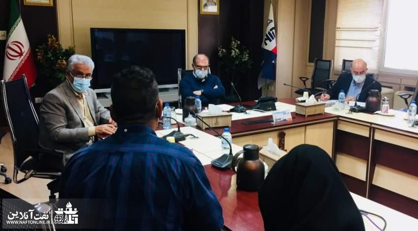 دیدار مدیرعامل ملی حفاری با کارکنان این شرکت | نفت آنلاین