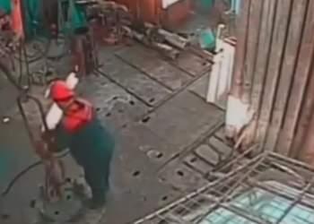 حادثه بر روی یک دستگاه حفاری | نفت آنلاین