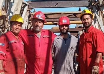 مردان ملی حفاری در روز پدر