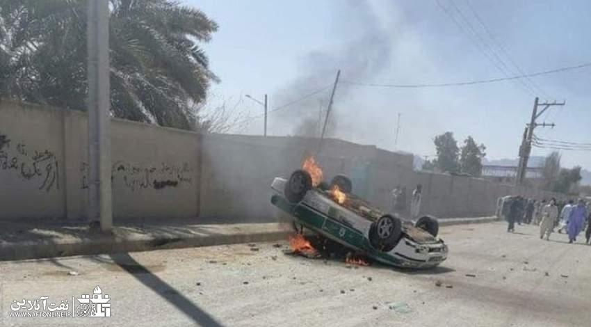 حوادث سراوان سیستان و بلوچستان