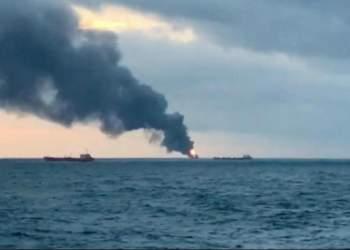افنجار کشتی اسراییلی در دریای عمان