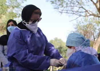 واکسیناسیون کرونا در بیمارستان بزرگ نفت اهواز | نفت آنلاین