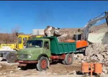 ماشین آلات شرکت بهرهبرداری نفت و گاز گچساران در سیسخت | نفت آنلاین