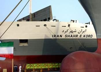فیلم انفجار در کشتی ایرانی شهرکرد