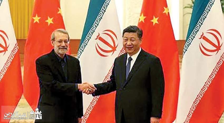علی لاریجانی در دیدار به یک مقام ارشد چینی