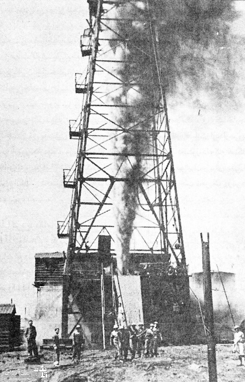 فوران نفت در حین عملیات حفاری | نفت آنلاین