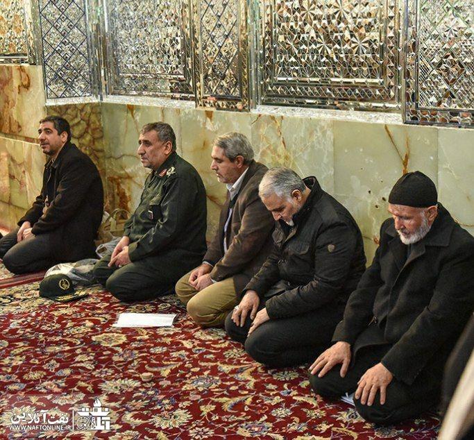 شهید حاج قاسم سلیمانی | حرم شاهچراغ (ع) | استان فارس | شیراز