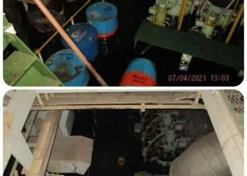 تصاویر کشتی ساویز پس از حمله