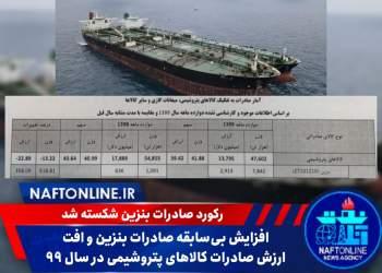 افزایش صادرات بنزین ایران | نفت آنلاین