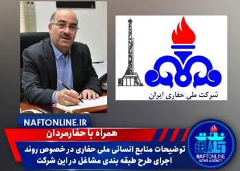 فرشید ممبینی | مدیر منابع انسانی شرکت ملی حفاری ایران