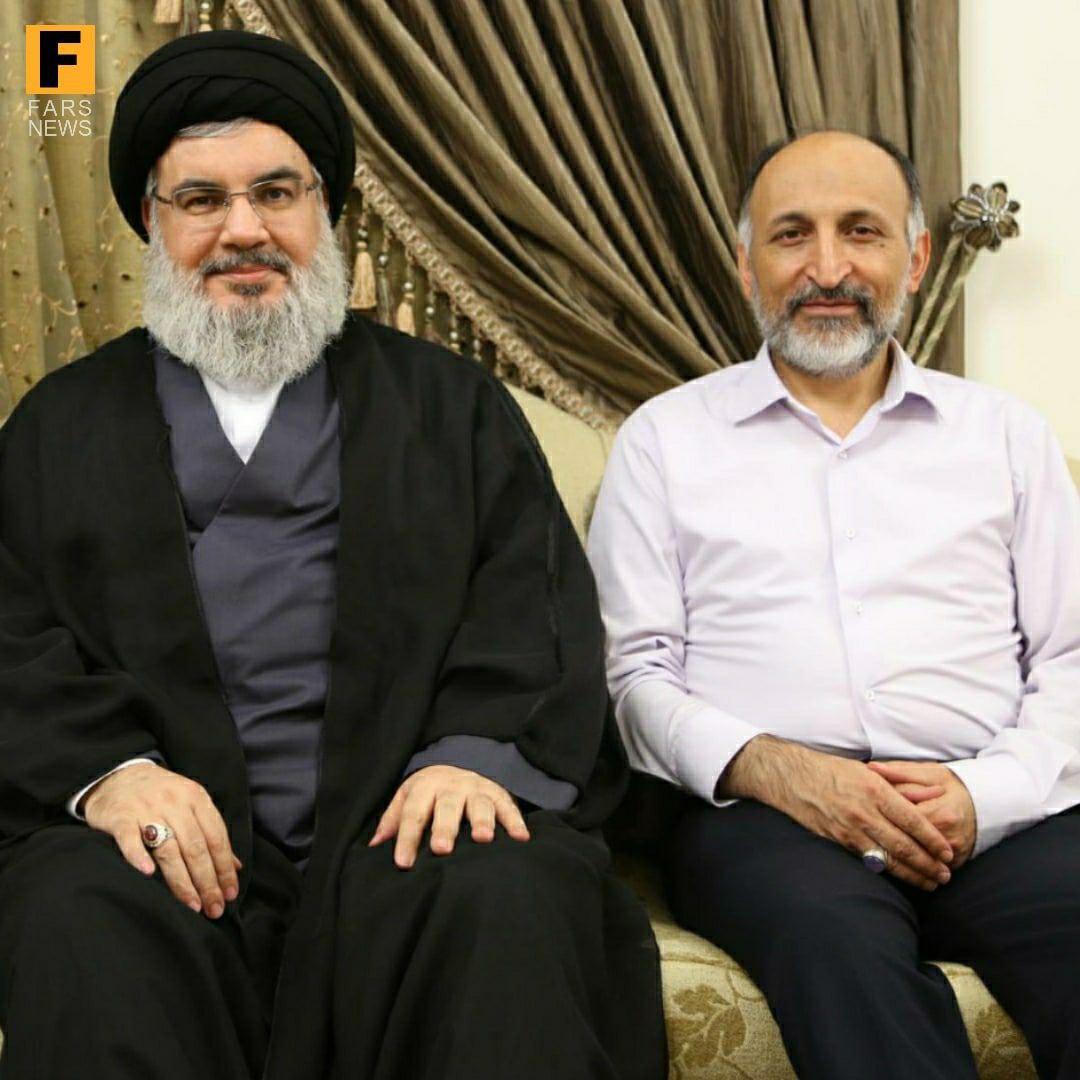 مرحوم حجازی و سید حسن نصرالله