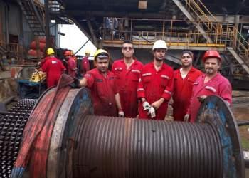 تصویری از کارکنان عملیاتی نفت در شرکت ملی حفاری ایران | نفت آنلاین