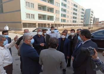 بازدید معاون وزیر از مسکن مهر نفت اهواز | نفت آنلاین
