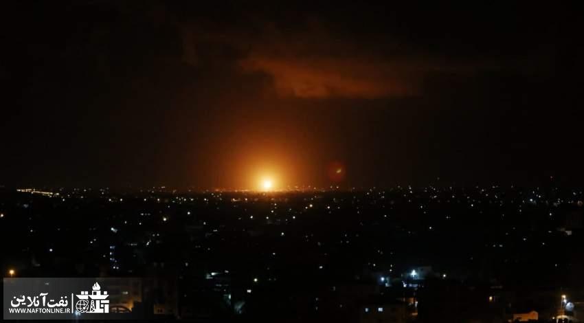 حمله موشکی به اسراییل