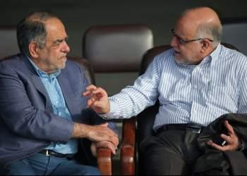 تصویری از بیژن زنگنه و اکبر ترکان | نفت آنلاین
