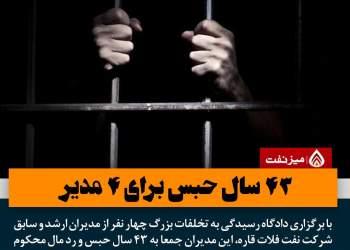 حبس برای مدیران نفتی | نفت آنلاین