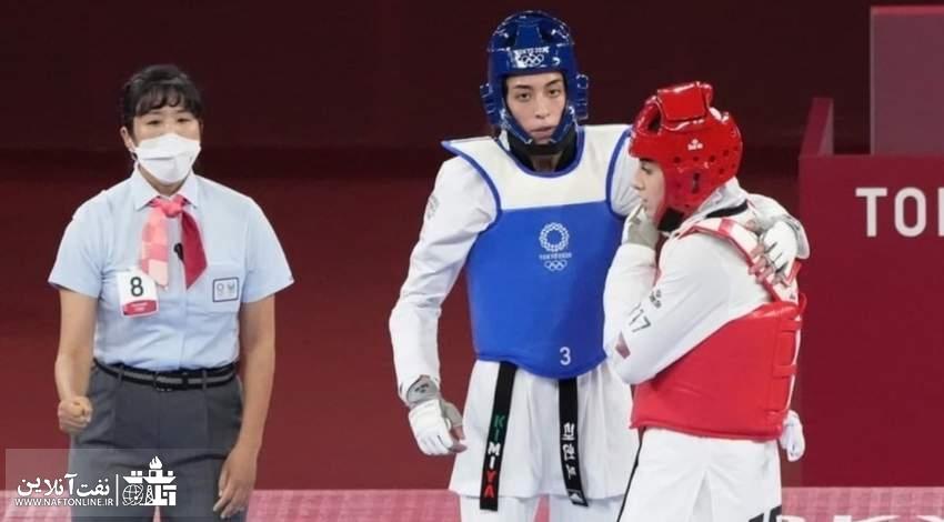 کیمیا علیزاده در المپیک توکیو