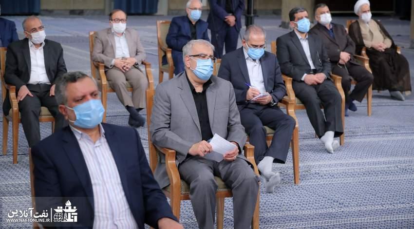 مهندس جواد اوجی | وزیر نفت | دیدار با رهبر انقلاب | نفت آنلاین
